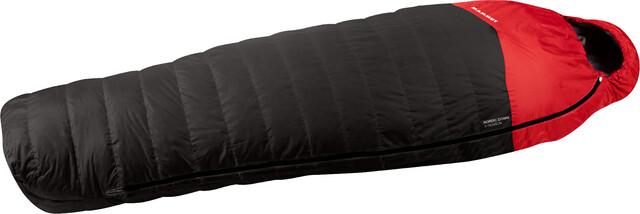 Mammut Nordic Down 3-Season Sleeping Bag 180cm graphite-fire (2019)